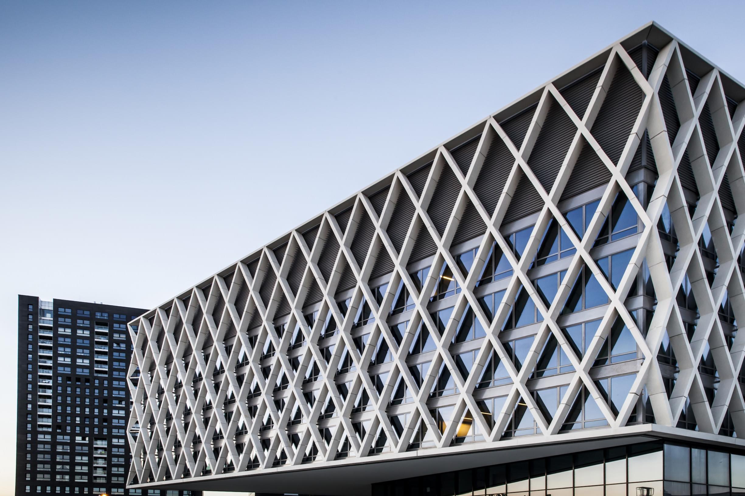 Éléments en X - Artesis Plantijn Institut supérieur Anvers - Verheyen Betonproducten
